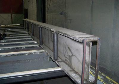 Belka stropu pieca elektrycznego KGHM