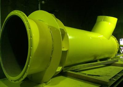 Rurociągi powietrza Mostostal